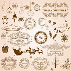 Christmas Calligraphic Decoration