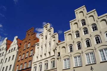 Altstadt von LÜBECK ( Schleswig-Holstein )