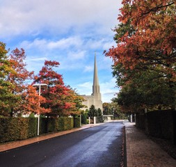 preston temple autumn