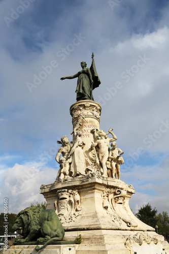 The Monument du Comtat in Avignon, France