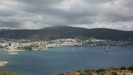 Bodrum Bay (pan shoot)