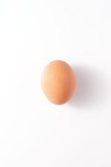 Huevo con fondo blanco