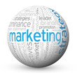 """""""MARKETING STRATEGY"""" Tag Cloud Globe (advertising business pr)"""