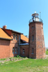 brick lighthouse