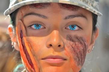 Blue Eyed Zombie