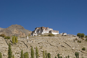 Monastery, Likir, Ladakh, India