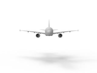 jumbo jet front view