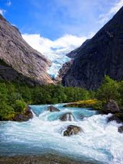 riksdalsbreen glacier, Norway