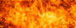 Leinwandbild Motiv blaze fire flame for banner background