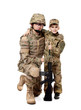 Military Father and Son