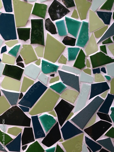 Abstract Mosaic Tile Background