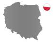 Polen-Landkarte