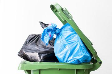 Waste bin top