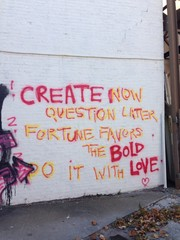 inspiring graffiti in brooklyn nyc