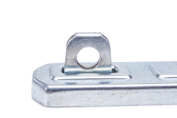 silver door latch for lock