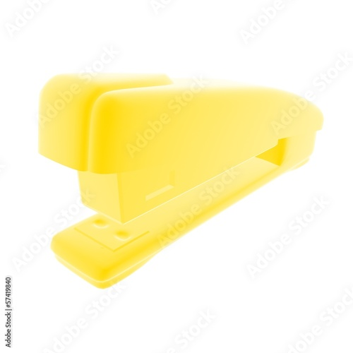 yellow stapler