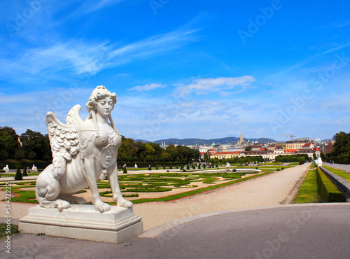 Sphinx for Belvedere garden, Vienna