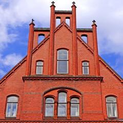Altes Rathaus in NEUMÜNSTER ( Schleswig Holstein )
