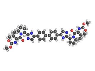 Daclatasvir experimental (2013) hepatitis C virus drug, chemical