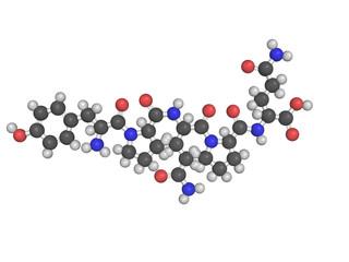 Chemical structure of gliadin