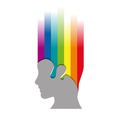 Vector Logo creativity and idea