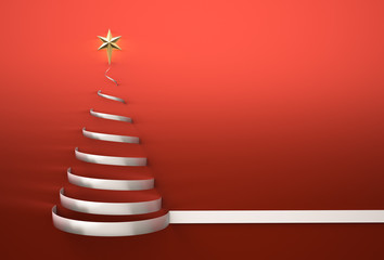 Christmas Tree Shape with star