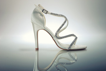 Elegant Brides white shoe