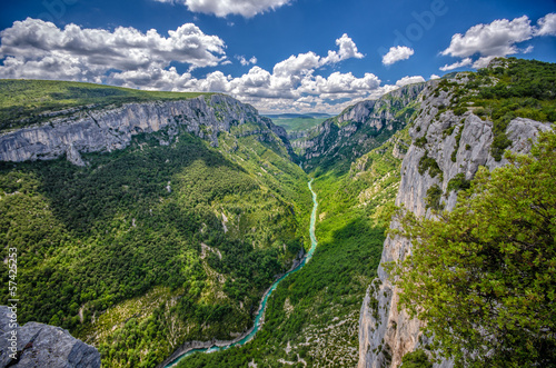 Goges du verdon (canyon of Verdon), France