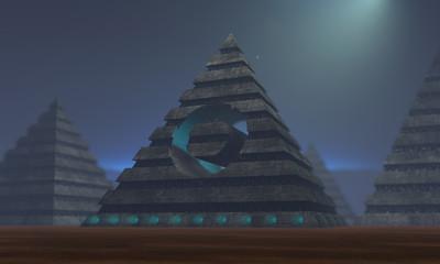SCI FI pyramid