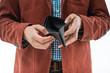empty wallet in the hands