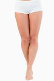 Portrait of a fit woman's legs