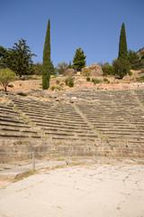 Греция. Дельфы. Античный театр