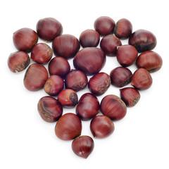 chestnut heart