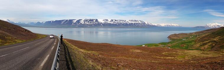 North Iceland flord - Eyjafjordur