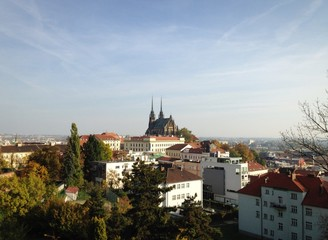 View on Petrov Brno