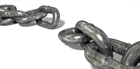 Chain Missing Link Apart