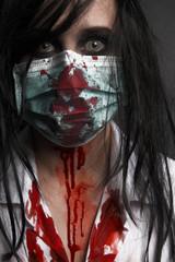Zombiekrankenschwester