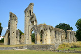 Glastonbury Abbey in Somerset, England, United Kingdom