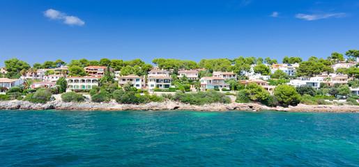 Beautiful coast architecture on Majorca island