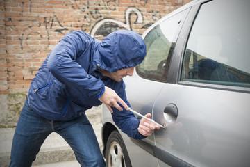 car thief city