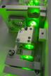 green laser fragment