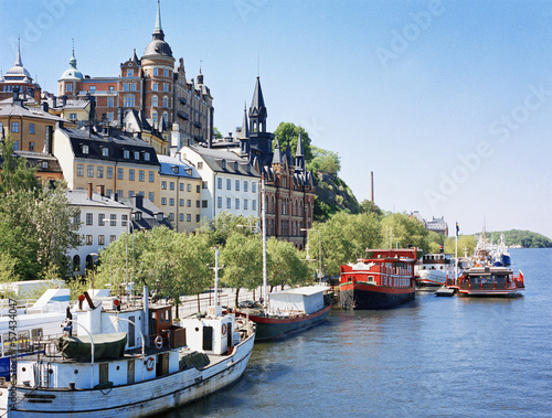 canvas print picture Stockholm
