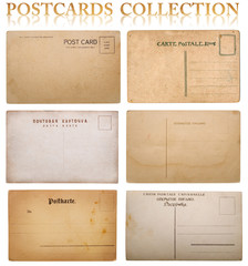 vintage postcard collection.