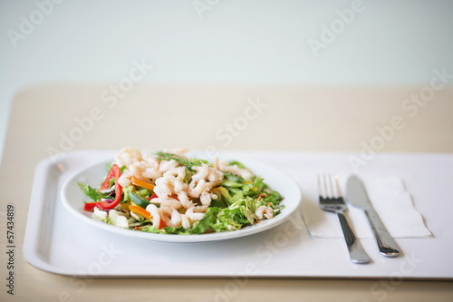 canvas print picture gesunder Salat