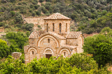 Church of the Panayia in Fodele. Crete