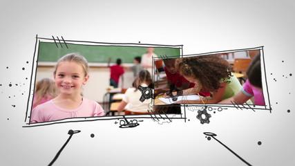 Video of pupils in school