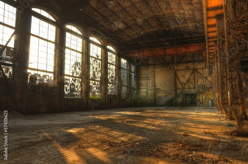 Abandoned hall - 57438625