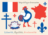 symbols of French Republic