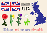 floral symbols of United Kingdom of Great Britain and Northern I
