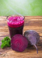 Beetroot juice, breakfast